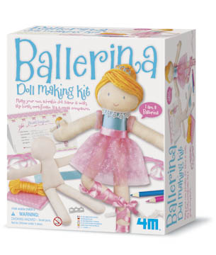 BALLERINA DOLL MAKING KIT picture