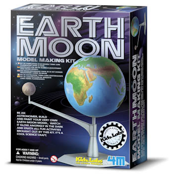 EARTH MOON MODEL KIT picture