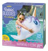 Bobbin' Buddies Narwhal-I-Cone