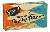 Paint Your Own Derby Racer