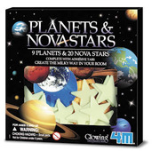GLOW PLANETS & NOVA STAR IN BOX