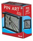 BLACK PIN ART