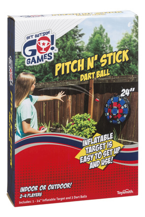 Pitch N' Stick Dart Ball