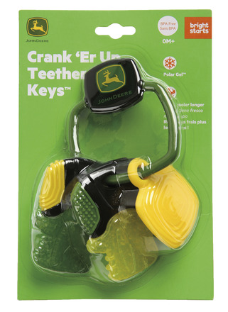 Bright Starts™ John Deere Crank 'Er Up Teether Keys™ picture