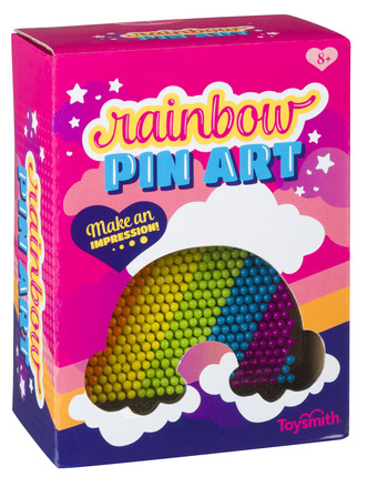 Rainbow Pin Art picture