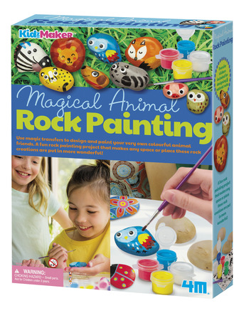 Magical Animal Rock Painting picture