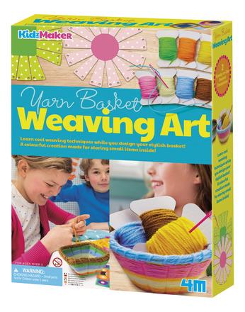 Yarn Basket Weaving Art picture