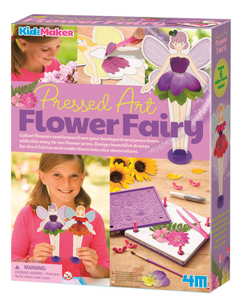 Flower Fairy Pressed Art picture