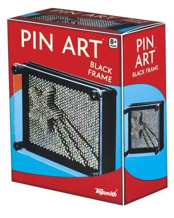 BLACK PIN ART picture