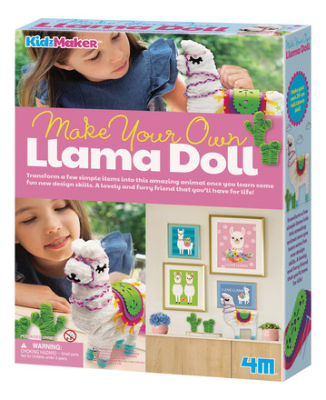 Make Your Own Llama Doll picture