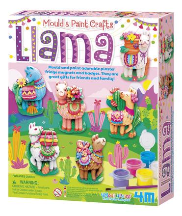 Mould & Paint Crafts Llama picture