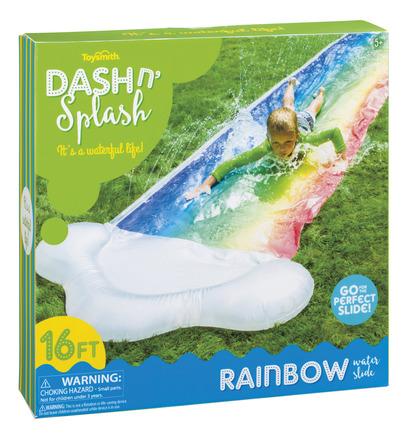Dash N' Splash Rainbow Water Slide picture