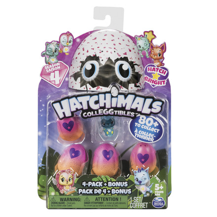 Hatchimals CollEGGtibles Season 4 - 4 Pack picture