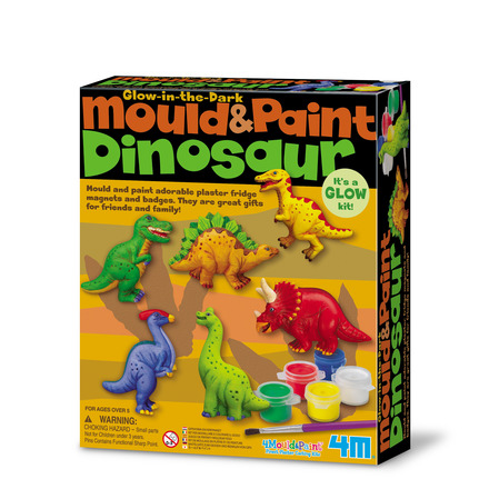 Mould and Paint Dinosaurs picture