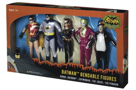Batman Bendable Boxed Set picture