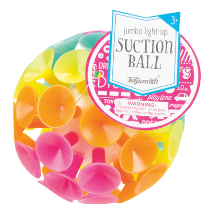 Jumbo Light Up Suction Ball picture