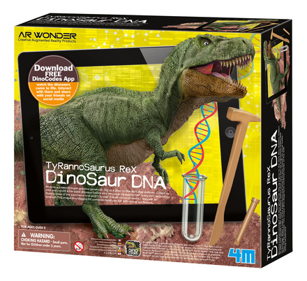 T-Rex Dinosaur DNA picture
