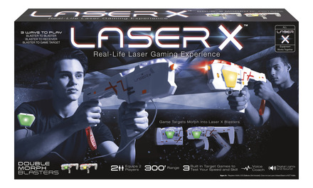 Laser X™ Double Morph™ Blasters picture