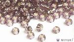 Miyuki 8/0 Glass Beads 12 - Silverlined Lilac approx. 30 grams