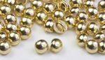 3mm Gold Rhodium All Metal Stud Buttons - 100 pk - Crystaletts