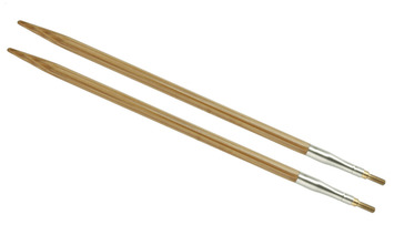 """5"""" 7 US/4.5mm HiyaHiya Bamboo interchangeable tip picture"""