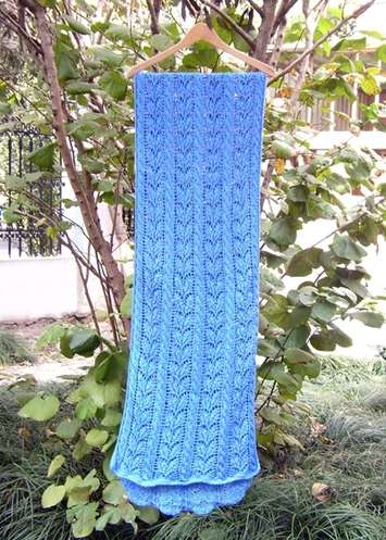 Gardenia Cables Shawl QHS46 picture