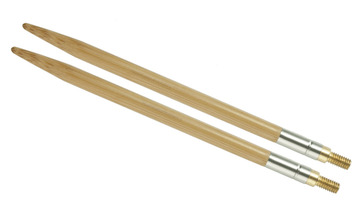 """5"""" 10.5 US/6.5mm HiyaHiya Bamboo interchangeable tip picture"""