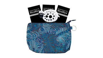 """HiyaHiya Steel 9"""" Circular Sock Set with Accessory Case picture"""