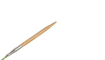 """9""""  3 US/3.25mm HiyaHiya Bamboo Circular Needle picture"""