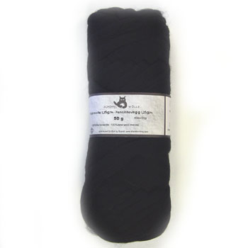 Schoppel Merino Pencil Roving Solid (50g) #0880 Black As Night picture
