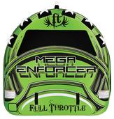 """Mega Enforcer - 80"""" D-Shape, Three Person Tube"""