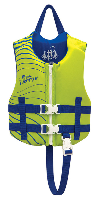 Absolute Outdoors Child Rapid-Dry Vest Blue 30-50