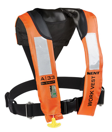 A-33 In-Sight Automatic Inflatable Work Vest picture