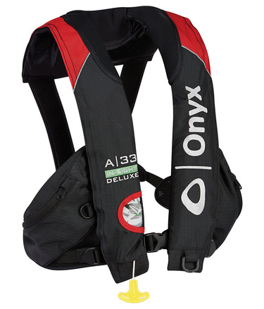 "A-33 In-Sight Deluxe ""Tournament"" - Automatic Inflatable Life Jacket (PFD) picture"