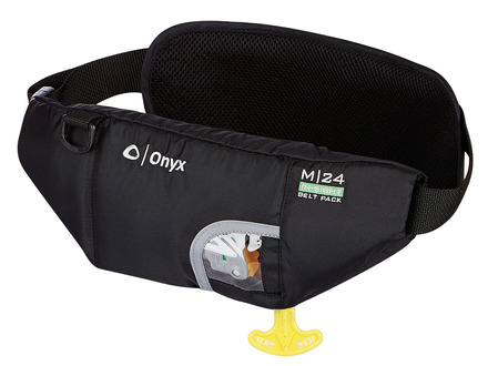 M-24 In-Sight Manual Inflatable SUP Belt Pack Life Jacket (PFD) w/ Hydration Pouch picture