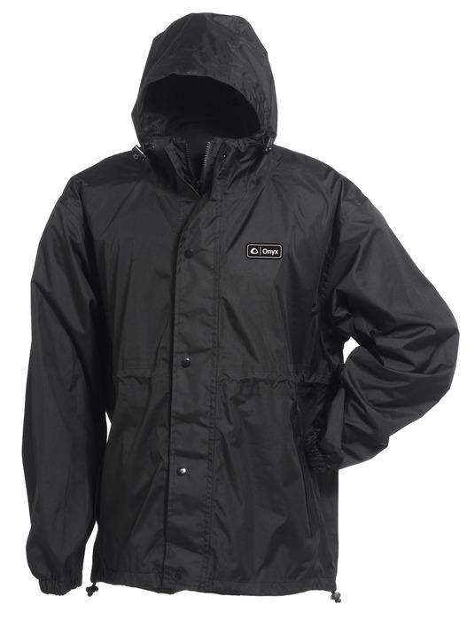 Packable Nylon Rain Jacket | Onyx Outdoor