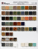 Elements & Specialty Glaze Chip Board