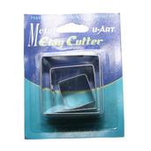 Tin Clay Cutter Square