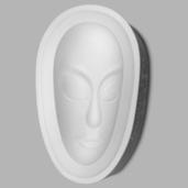 Plain African Mask
