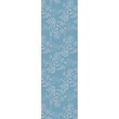 """Mille Coraux Ocean Tablerunner 22""""x71"""", 100% Cotton"""