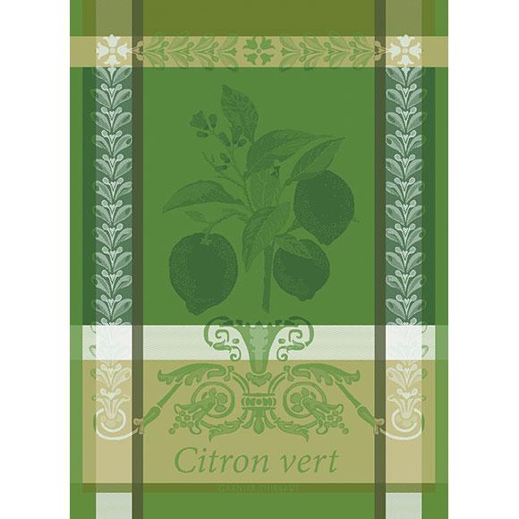 citron vert kitchen towel garnier thiebaut. Black Bedroom Furniture Sets. Home Design Ideas