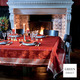 Chant De Noel Bordeaux Tablecloth 69