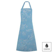 "Mille Coraux Ocean Apron 30""x33"", Coated Cotton"