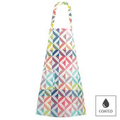 "Mille Twist Pastel Apron 28""x33"", Coated Cotton picture"
