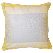 "Alexandrine Mimosa Cushion Cover 20""x20"", Cotton-2ea"