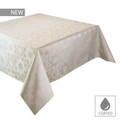 "Mille Gibraltar Mastic Tablecloth 59""x87"", Coated Cotton"