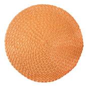 Rosette Orange Vinyl Placemat