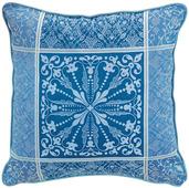 """Cassandre Saphir Cushion Cover 20""""x20"""", Cotton-2ea"""