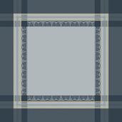 """Galerie Des Glaces Argent Napkin 21""""x21"""", 100% Cotton"""