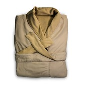 Melrose Ivory Bath Robe XL, Microfiber